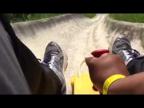 Alpine Slide @ Lutsen Resort --- Lutsen, Minnesota