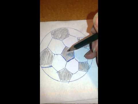Wie Malt Man Einen Fussball Malanleitung