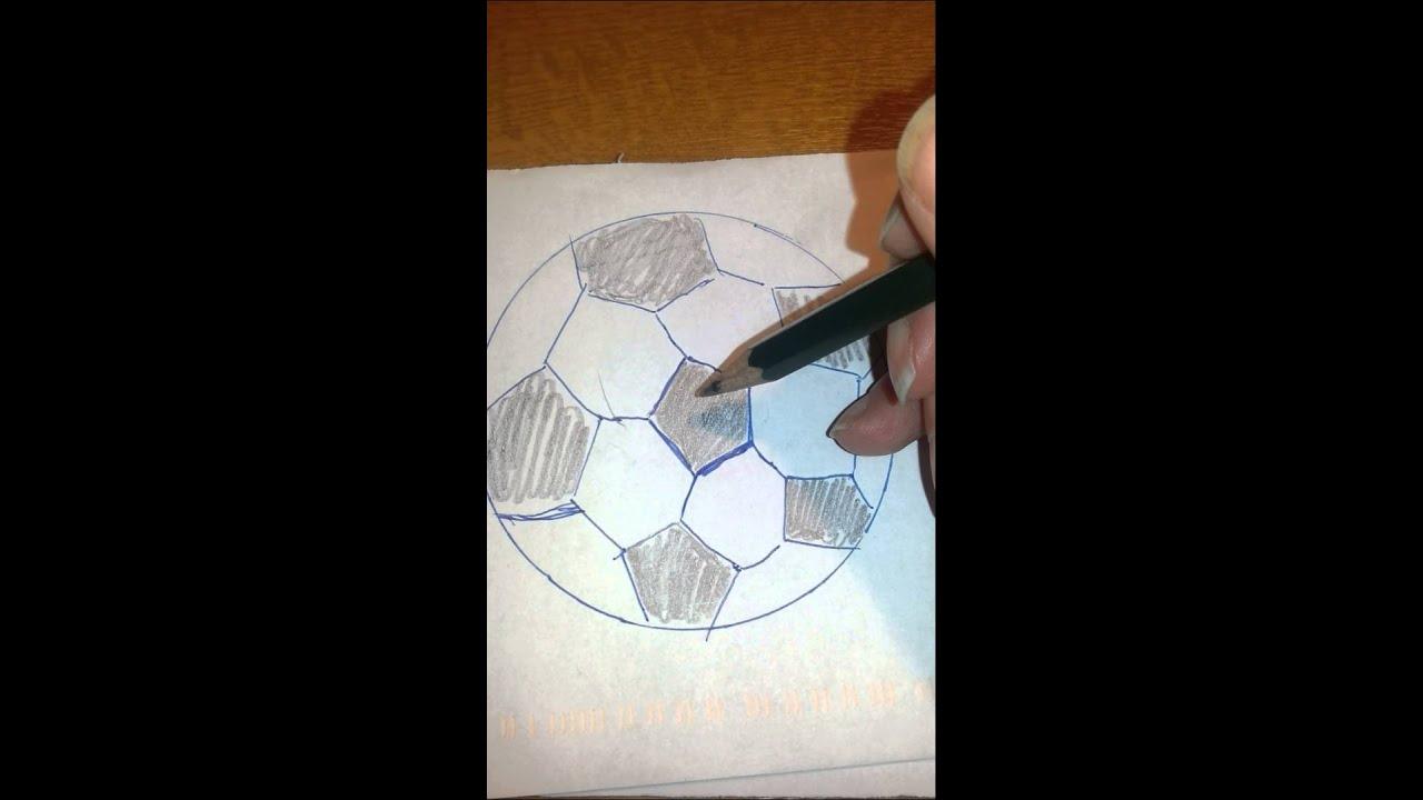 Wie Malt Man Einen Fußball Malanleitung