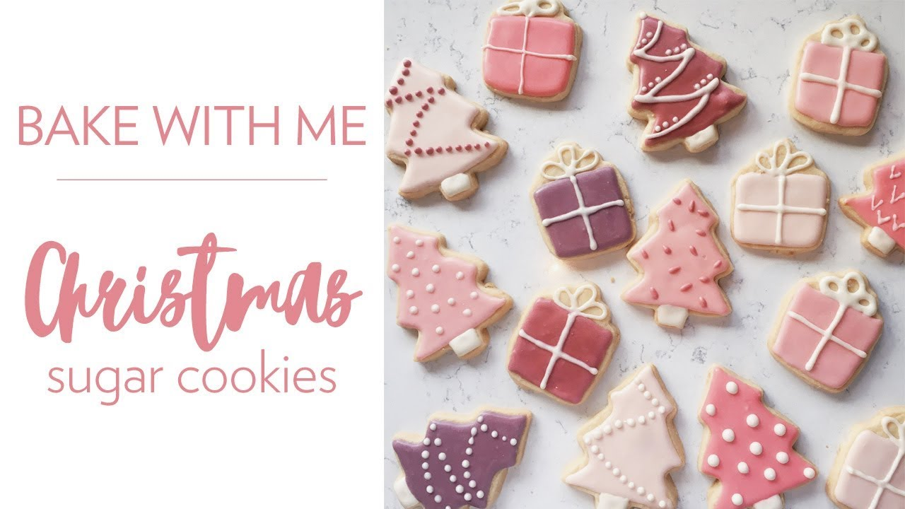 Christmas Cookies Bake With Me Sarah Brithinee