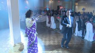 Parents Grand Entrance - An Indian Wedding Reception Toronto Wedding Videography Photography