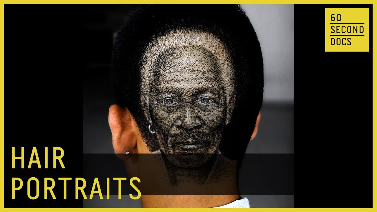 Hair Portraits by a Self-Taught Tattoo Barber