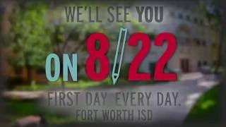 Video FWISD We'll See You on 8/22 Back to School PROMO 2016 download MP3, 3GP, MP4, WEBM, AVI, FLV Juli 2018