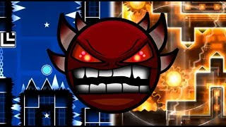Evolution of Extreme Demons! [1.6-2.1] (Geometry Dash)
