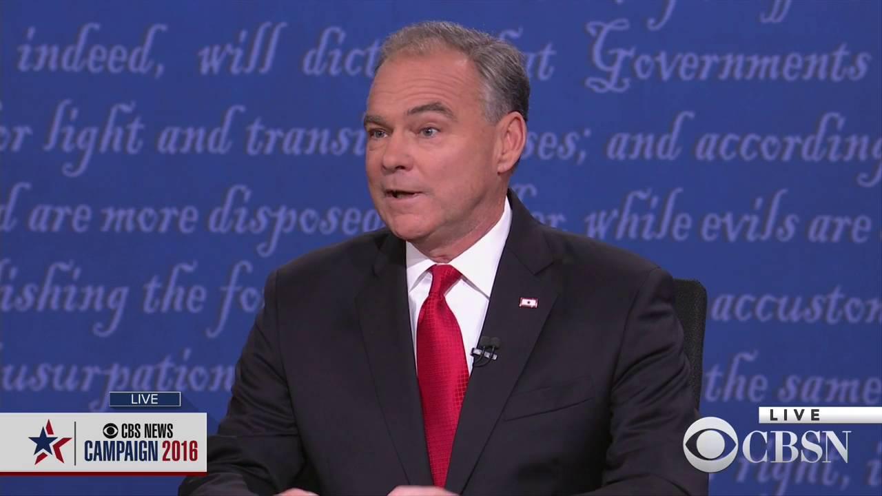 WATCH LIVE: The Vice Presidential Debate