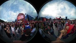 "360 VR, ФАН-зона, концерт ""Мельницы"" после матча Россия-Уругвай"