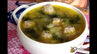 Суп с фрикадельками и многозлаковыми хлопьями Для детей