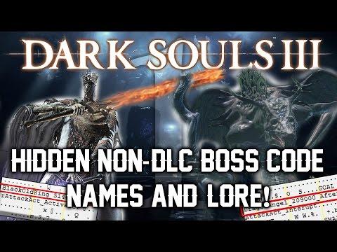 Dark Souls 3 Unused Content ► NON-DLC BOSS CODENAMES AND HIDDEN LORE! (PART 1)