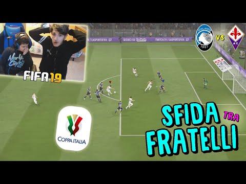 ATALANTA vs FIORENTINA - SEMIFINALE COPPA ITALIA! - Fifa 19