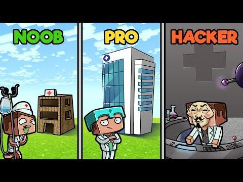 minecraft---hospital-challenge!-(noob-vs-pro-vs-hacker)