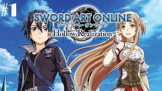 Sword Art Online: Hollow Realization Deluxe Edition Walkthrough Gameplay Part 1 - No Commentary (PC)