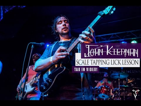 Tapping Guitar Scales Lick/Lesson with John Kiernan!