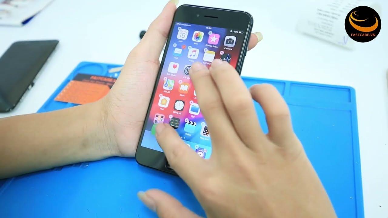 iPhone 7 Plus sọc màn hình và giải pháp khắc phục tối ưu