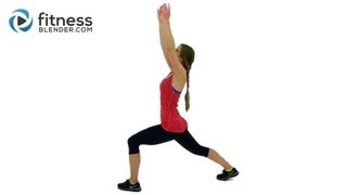 Yoga Cardio Blend - Yoga for Weight Loss - Yoga Inspired Cardio & Toning Workout by Fitness Blender
