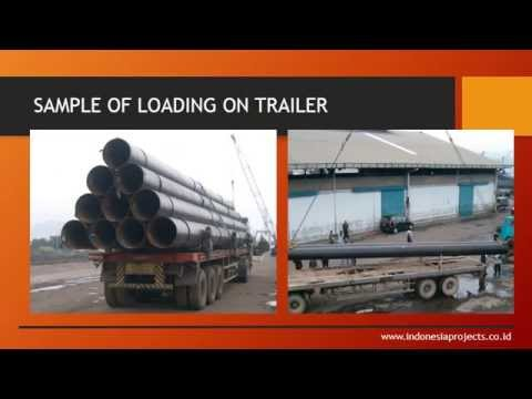 PIPELINE TRANSPORTATION BY INDONESIA PROJECT LOGISTICS