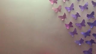 How To Make Fantastic Butterflies Wall Decor - Diy Home Tutorial - Guidecentral