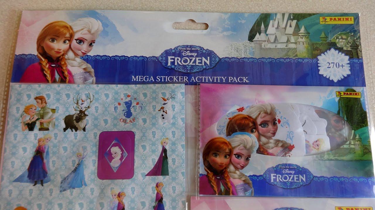 Disney Frozen Mega Sticker Activity Pack 270 Stickers ...