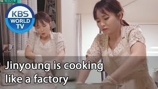 Jinyoung is cooking like a factory [Stars' Top Recipe at Fun-Staurant/ENG/2020.08.25]