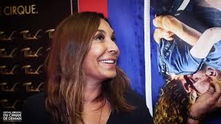 Interview Zazie - 40e Festival Mondial du Cirque de Demain