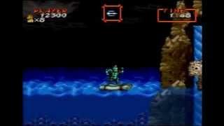 超魔界村 ステージ2のボス撃破法 魔界ノボス 検索動画 21