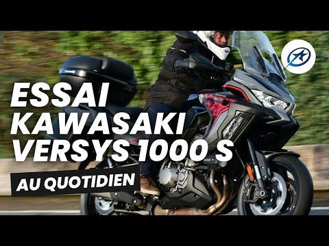 Essai Kawasaki Versys 1000 S Grand tourer