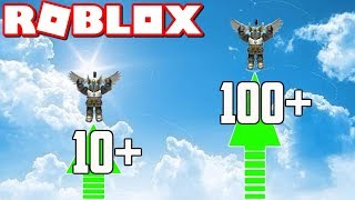 ULTRA JUMPING IN ROBLOX! | Roblox Ultra Jump Simulator