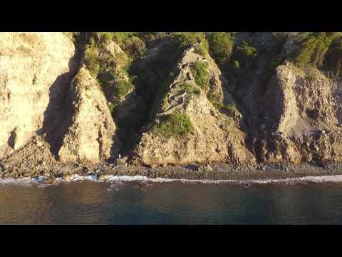 Dutch Caribbean-Saba West Coast DJI Drone Footage