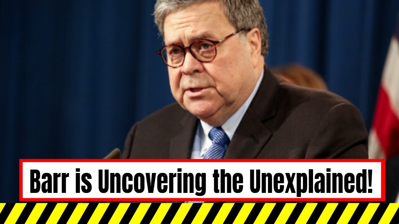 "Attorney General Barr: ""We're Getting Deeply into the Situation"""