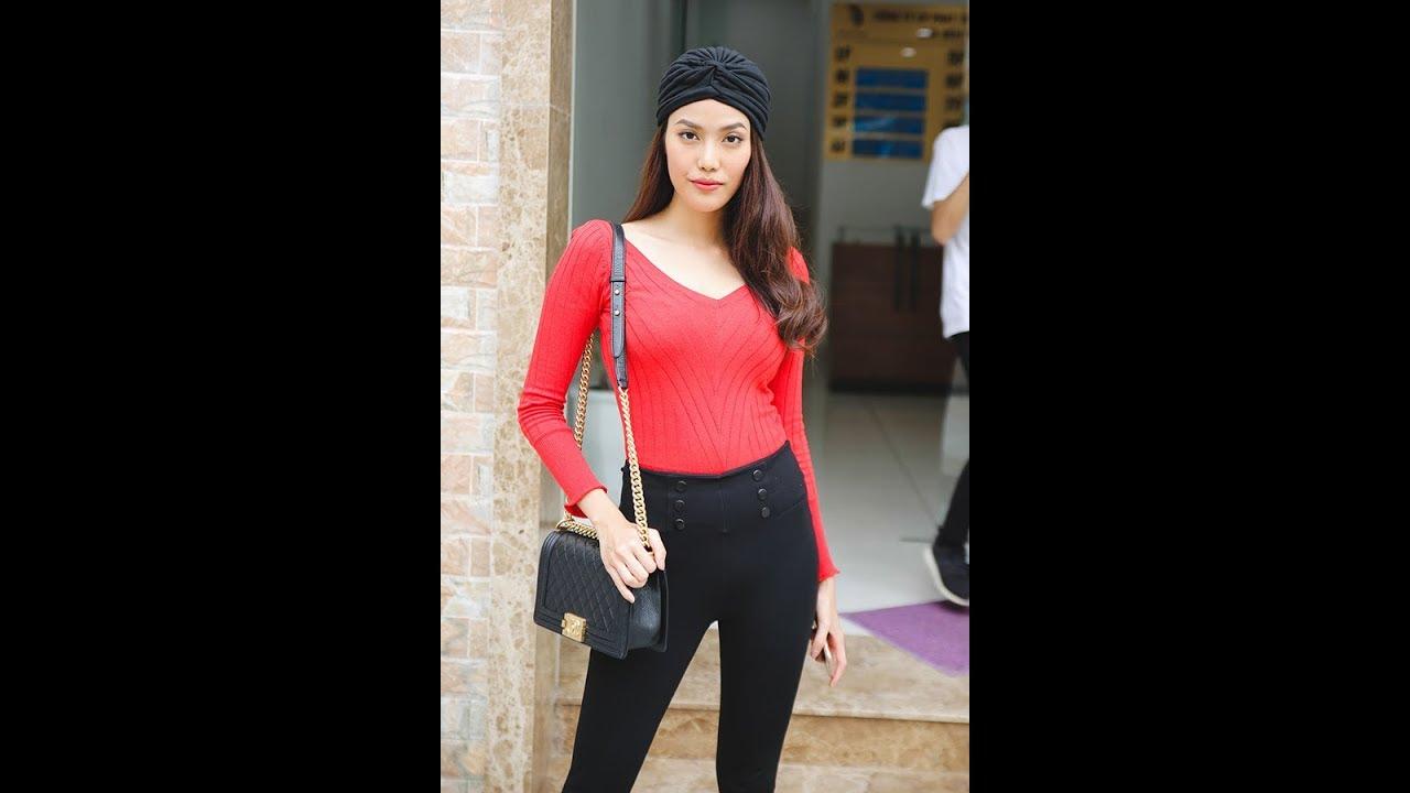 Hoàng Thùy , Lan Khuê cá tính đi casting model .
