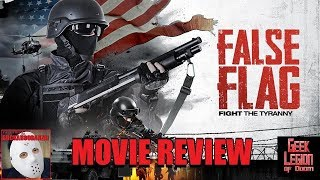 FALSE FLAG ( 2019 Justin Rose ) aka LAST RIOT Action Movie Review