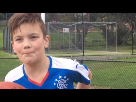 AFL TRICK SHOTS PART 2 BLOOPERS