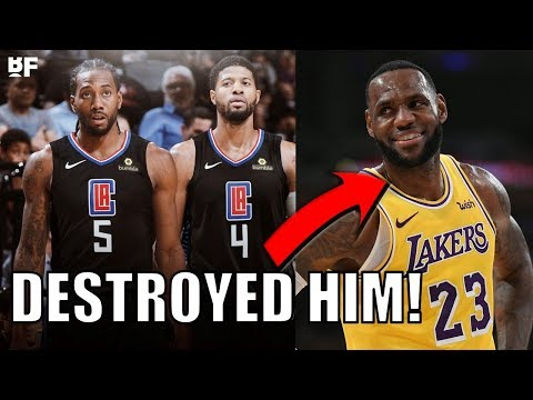 How Kawhi Leonard and Paul George DESTROYED the Lakers!   New Superteam in LA!