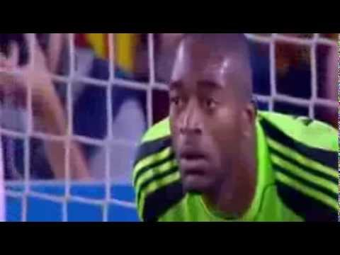 Leo Messi Free Kick GOL vs Ajax  Champions League  (9/18/13) by IsaacFutbol4hd