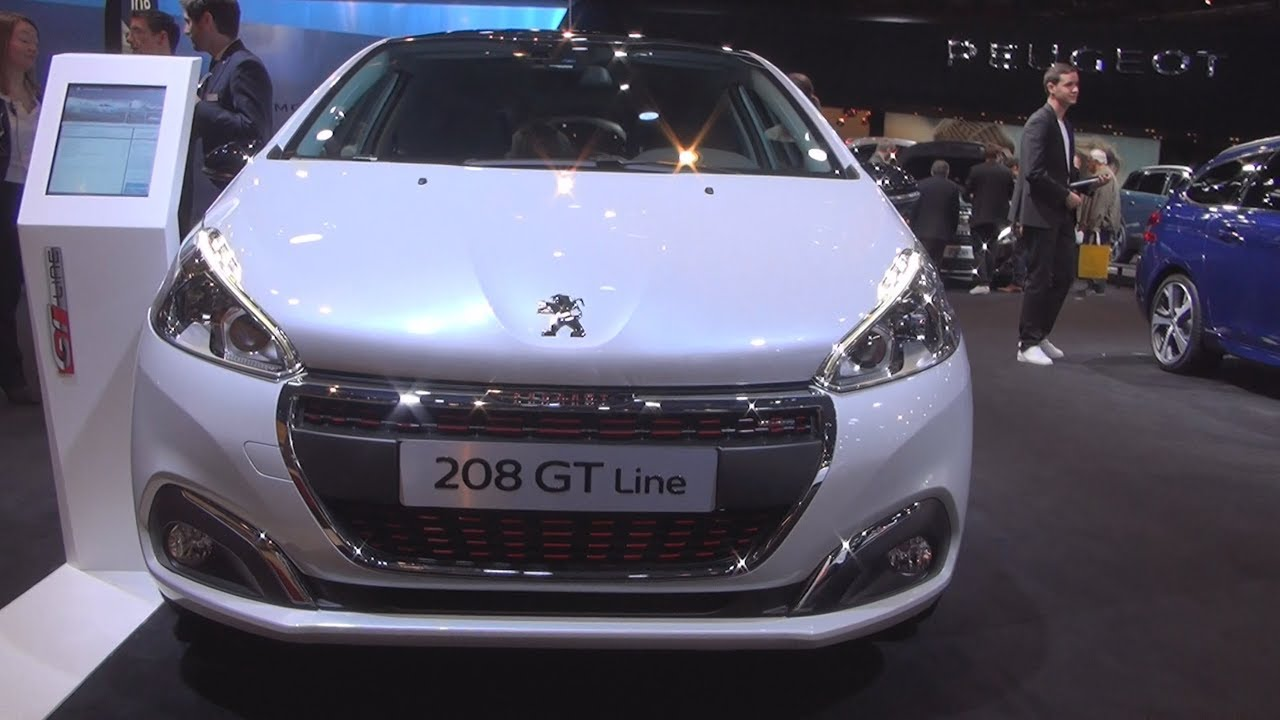 Peugeot 208 GT Line 3P 1.6 BlueHDi 120 S&S BVM6 (2017) Exterior and ...