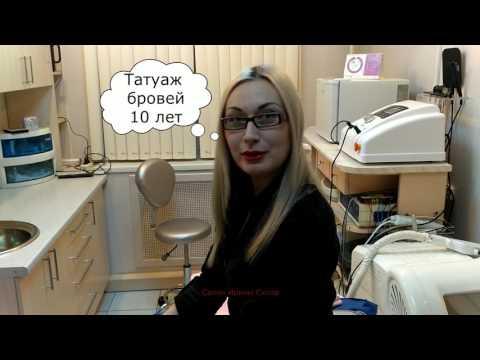 Отзыв о татуаже Ирины Скляр