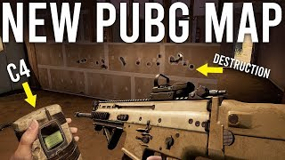 New PUBG Map with C4 and Destruction.