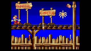 Pinocchio - полное прохождение (Walkthrough) (Sega Megadrive-Genesis)