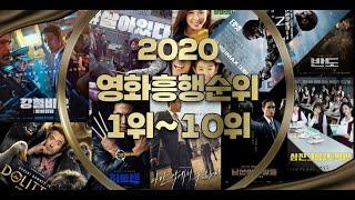 2020년개봉영화흥행순위1위~10위
