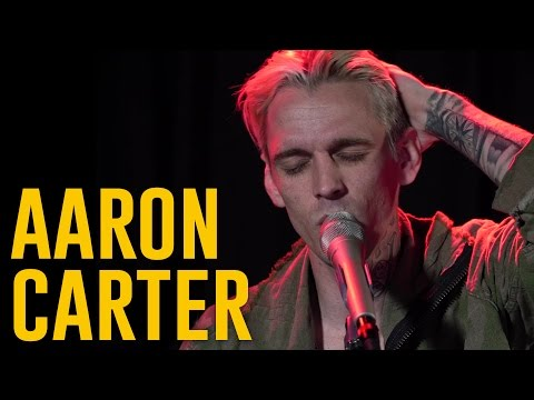 "Aaron Carter Performs, ""Sooner or Later"""