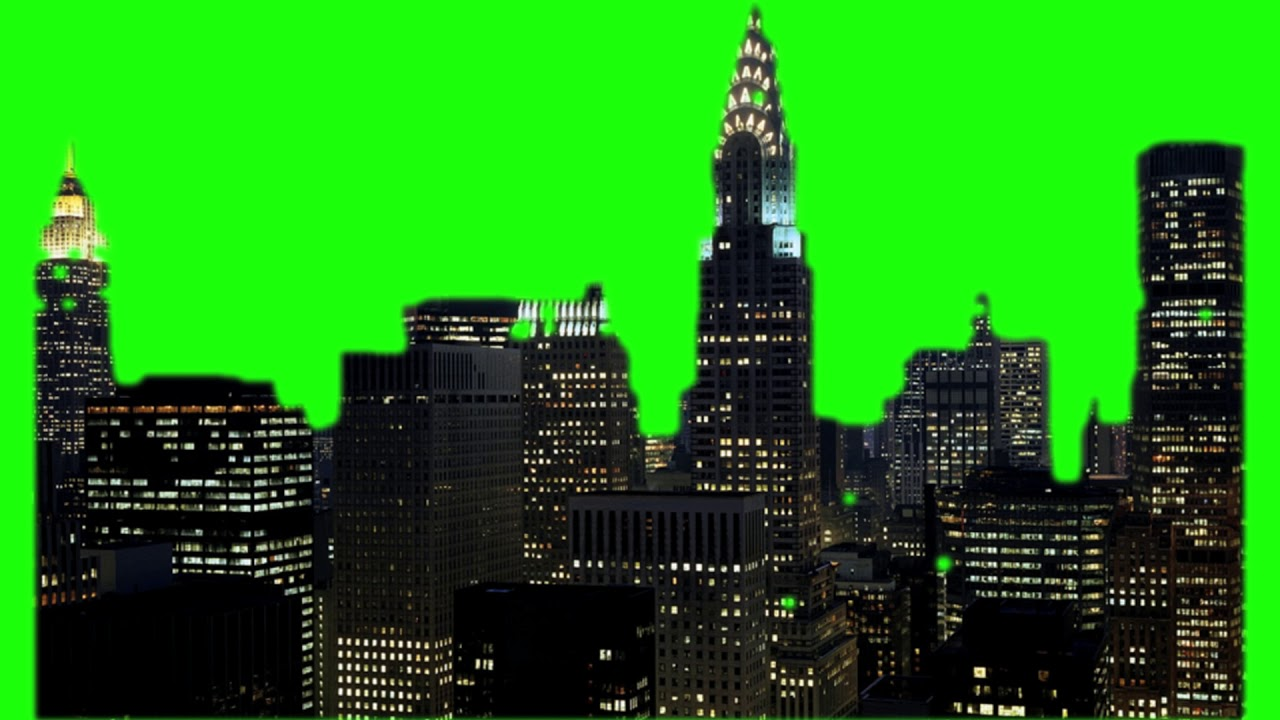 GREEN SCREEN FOOTAGE New York City 100% FREE To USE