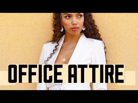 HOW TO DRESS FOR THE OFFICE | TIPS & LOOKBOOK
