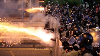 Huge crowd continues Hong Kong protest as police clash with activists