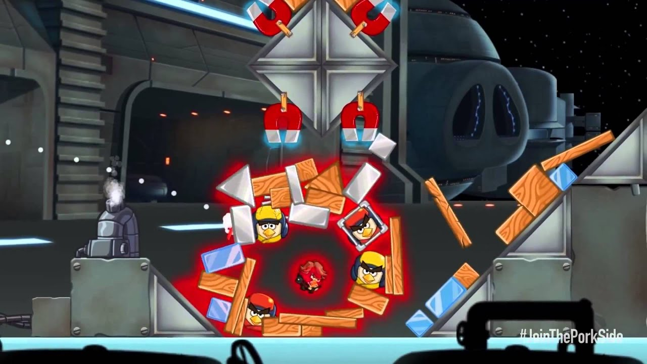 Angry Birds Star Wars 2 Bird Types  Anakin Skywalker Sith