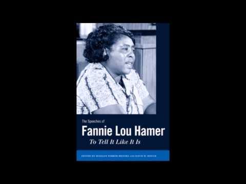 "Fannie Lou Hamer - ""I Dont Mind My Light Shining"""