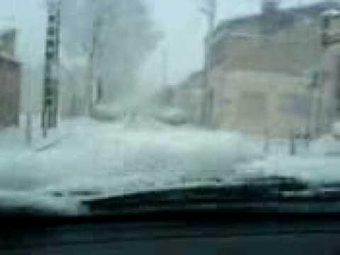 neige bd mazaudier 8h00 du matin 07 01 2009 marseille 12eme