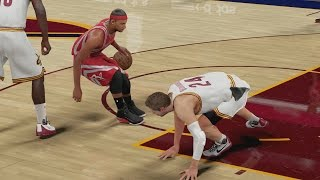 Nba 2k16 ps4 my career - lebron flagrant fouls me!