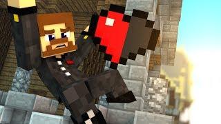 БЕЗУМНЫЙ ПРЫЖОК С ПОЛОВИНОЙ СЕРДЦА - Minecraft Прохождение Карты