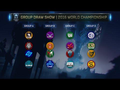 Sorteio dos Grupos do Mundial 2016
