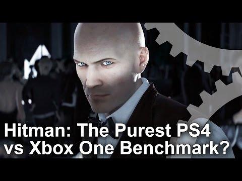 Hitman - A PS4/Xbox One Hardware Benchmark?