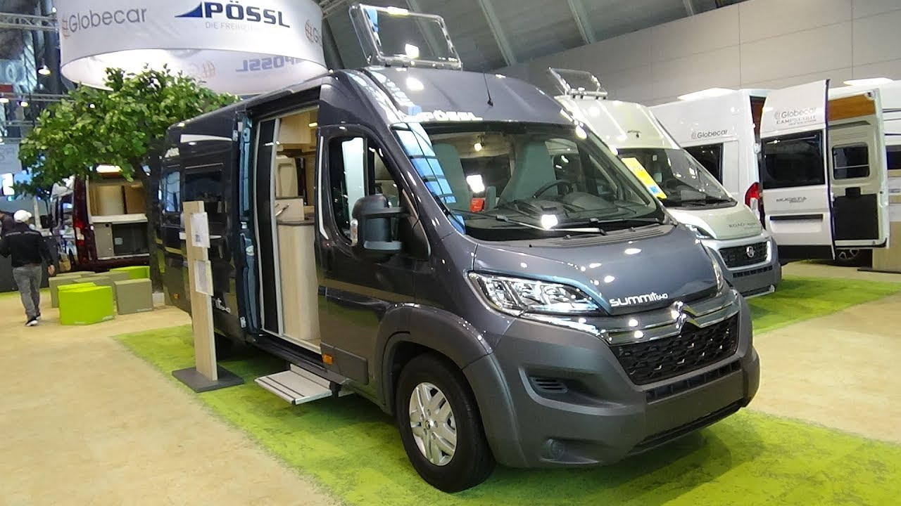 2018 Pössl Summit 640 Citroen - Exterior and Interior - Caravan Show CMT  Stuttgart 2018